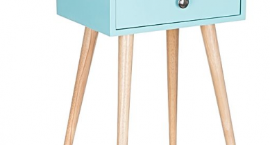 Jack Aqua Bedside Table